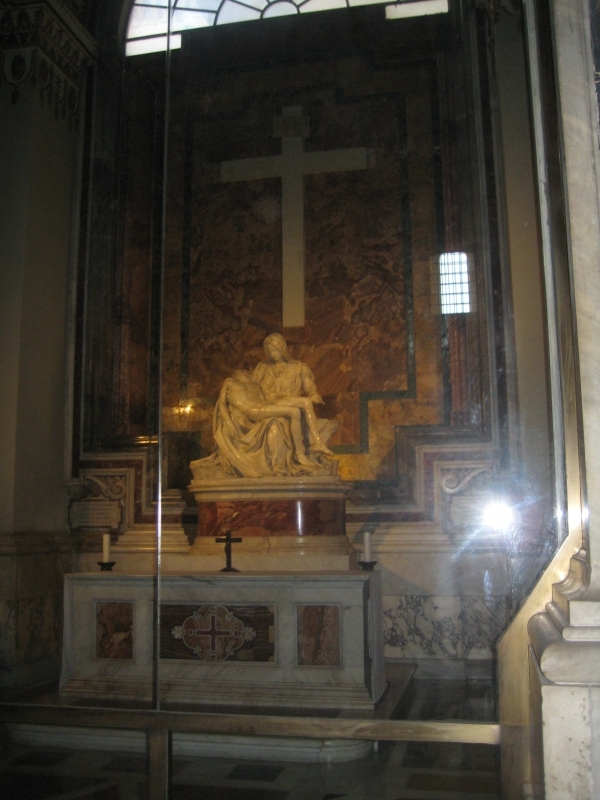 Pietà van/by Michelangelo