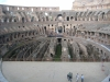 Binnen het Colosseum/Inside the Colosseum