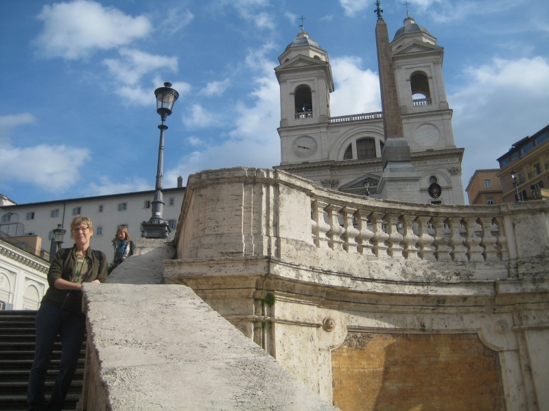 Spaanse trappen/Spanish steps